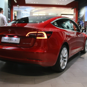 Tesla's Model 3 is the most popular electric car to lease in the UK