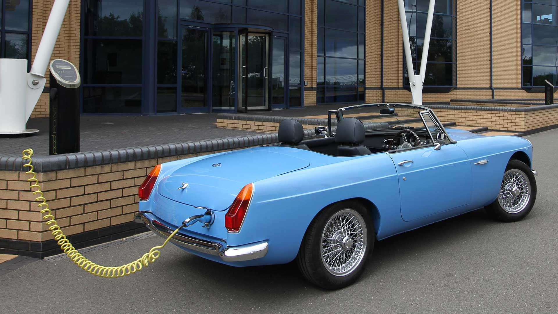 Electric classic MG conversion