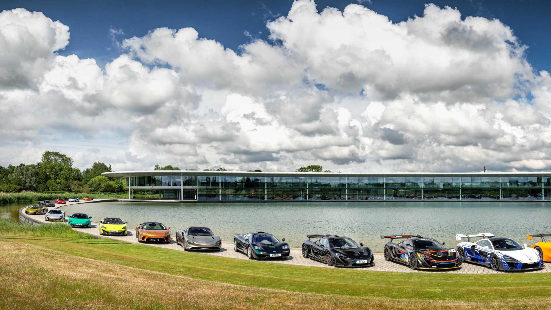 McLaren £50m display in Woking