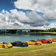 McLaren display in Woking