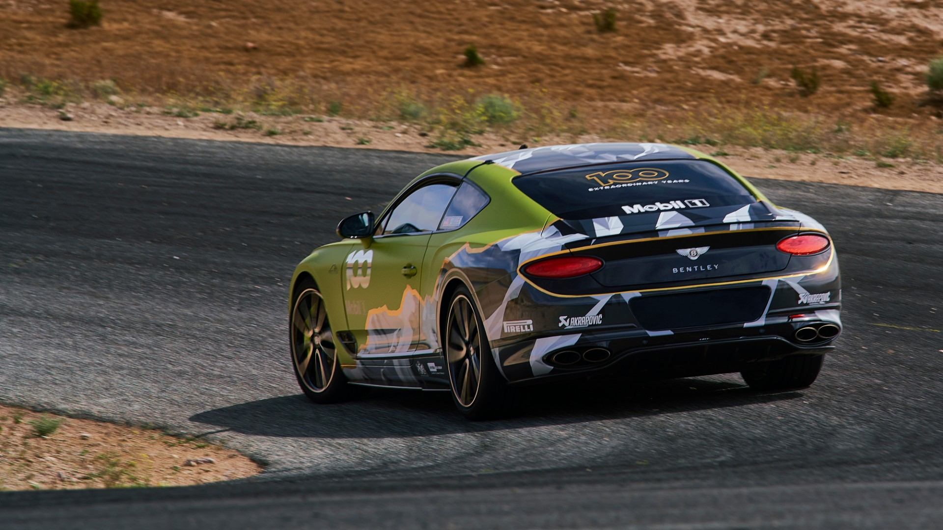 Bentley Continental GT to take on Pikes Peak