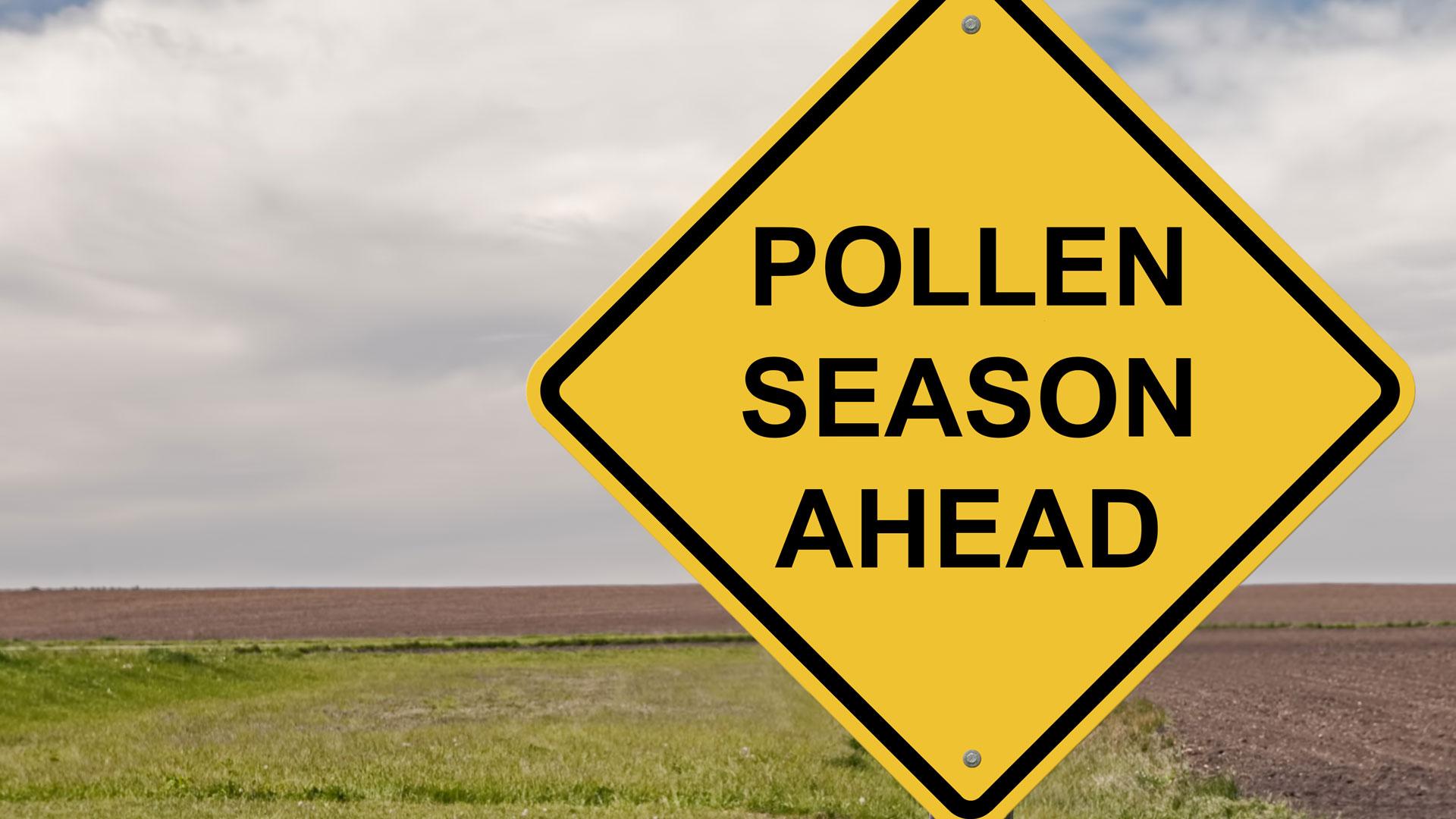 Pollen season ahead for drivers