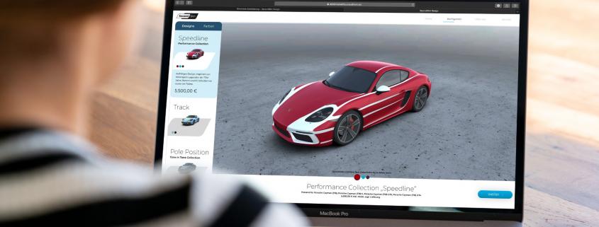 Second Skin Porsche livery online
