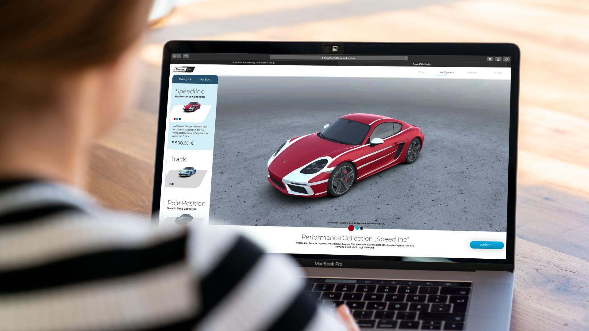 Design Your Own Car >> New Porsche Website Lets You Design Your Own Car Wrap