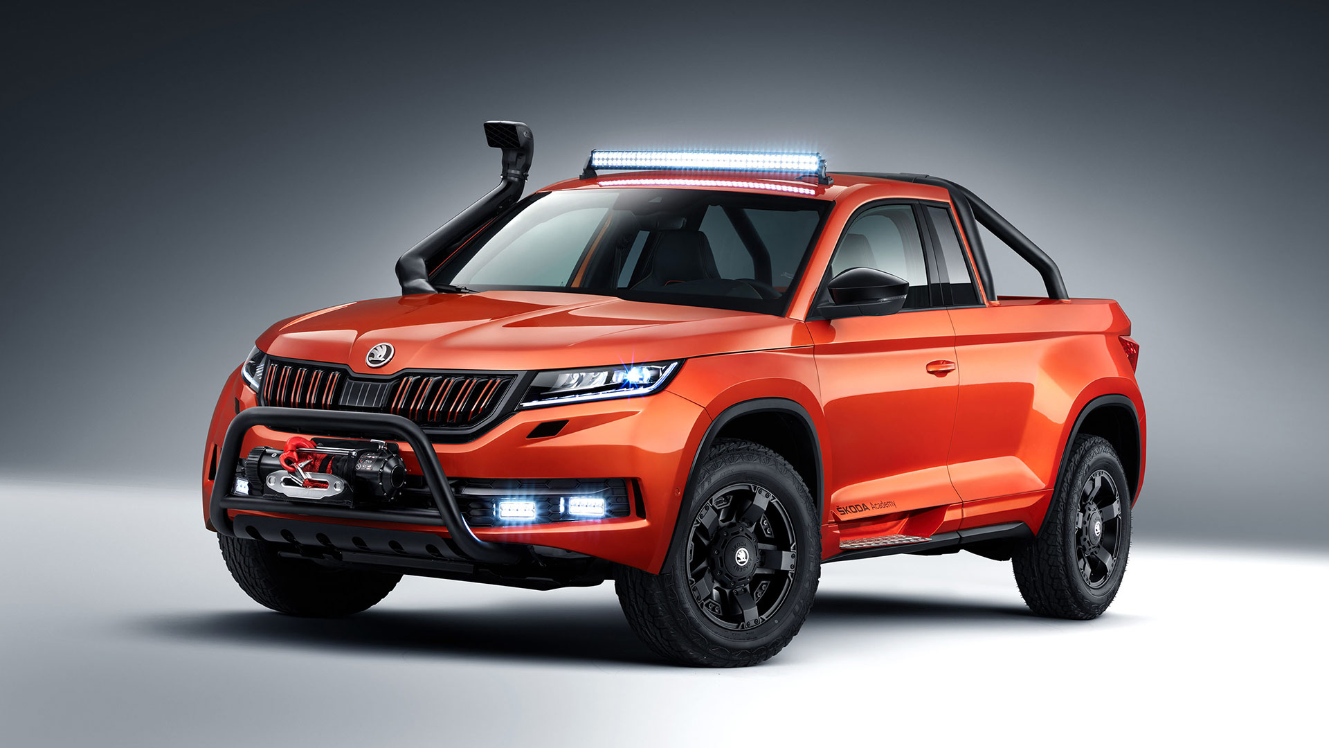 Skoda students build custom pickup concept