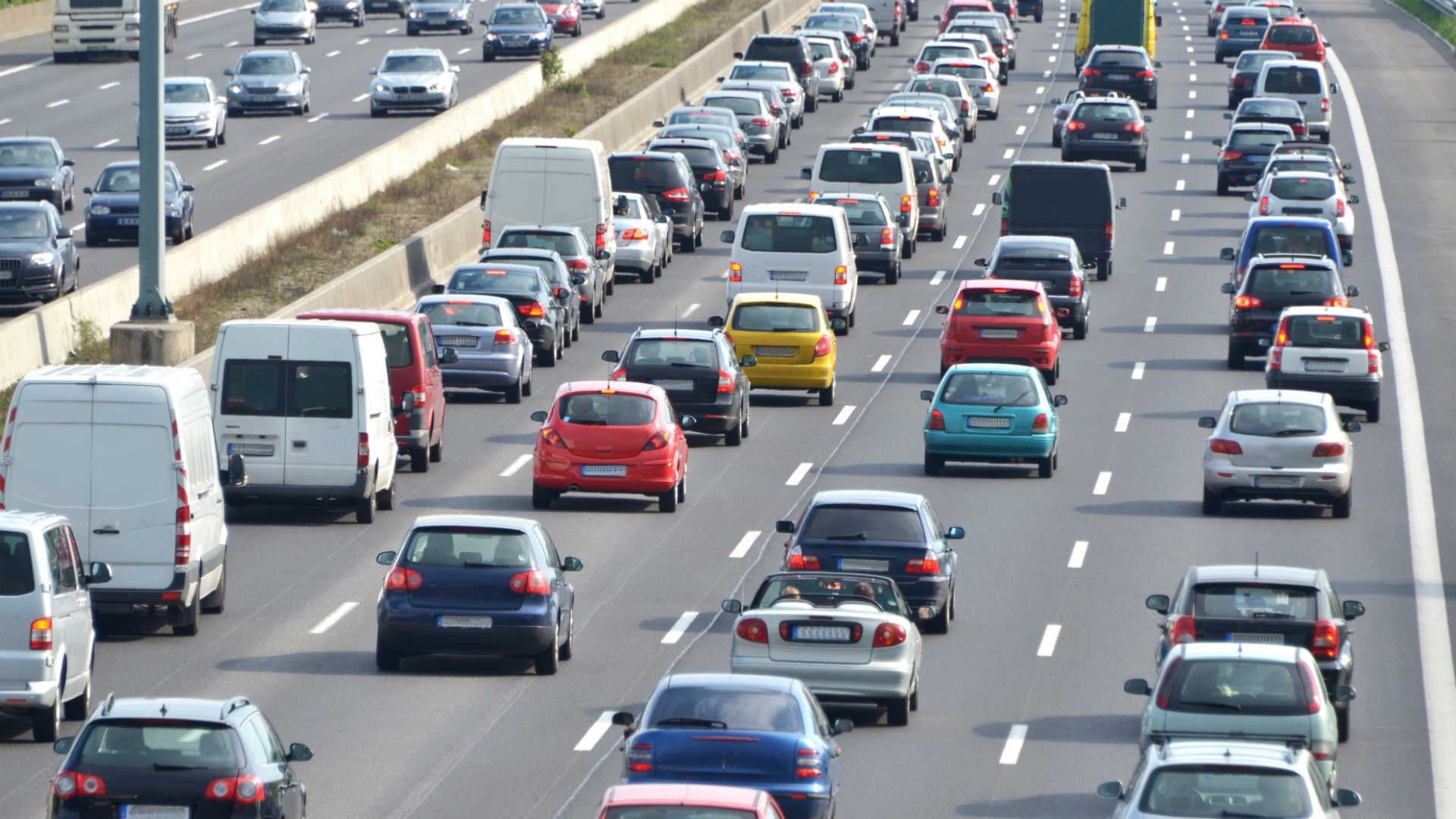 Traffic congestion in Germany