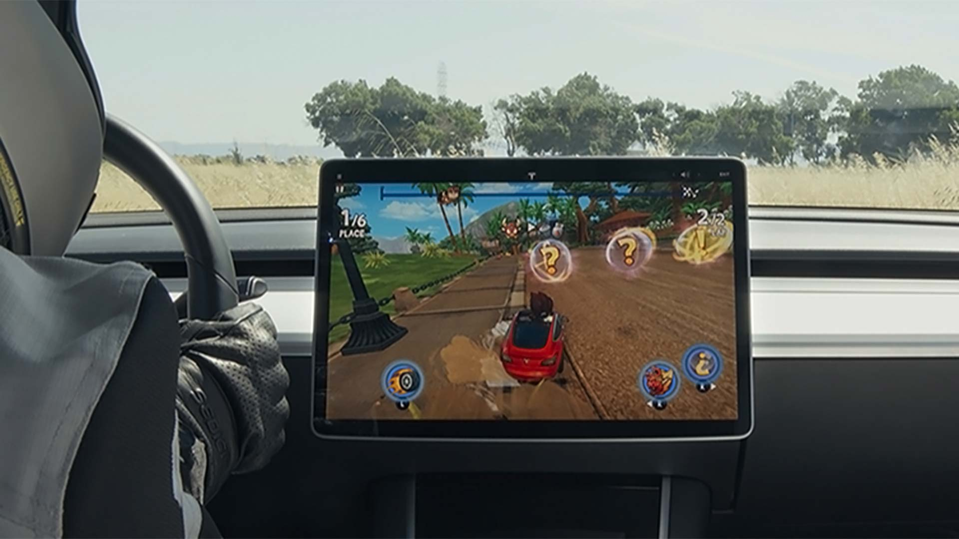 Tesla Arcade Mode