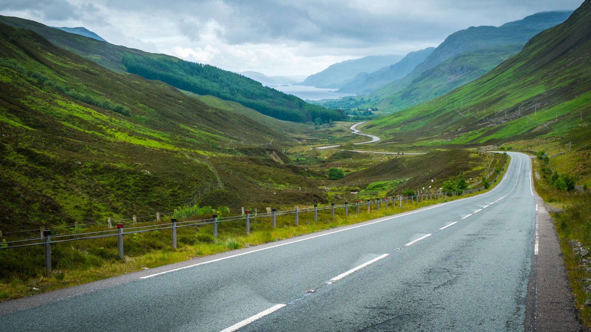 'Knowhere in britain is more than six miles form a road'