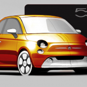 Electric Fiat 500 2020 production