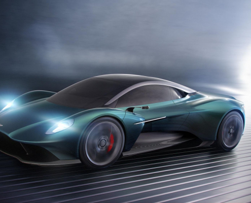 Next Aston Martin Vanquish could get a manual transmission