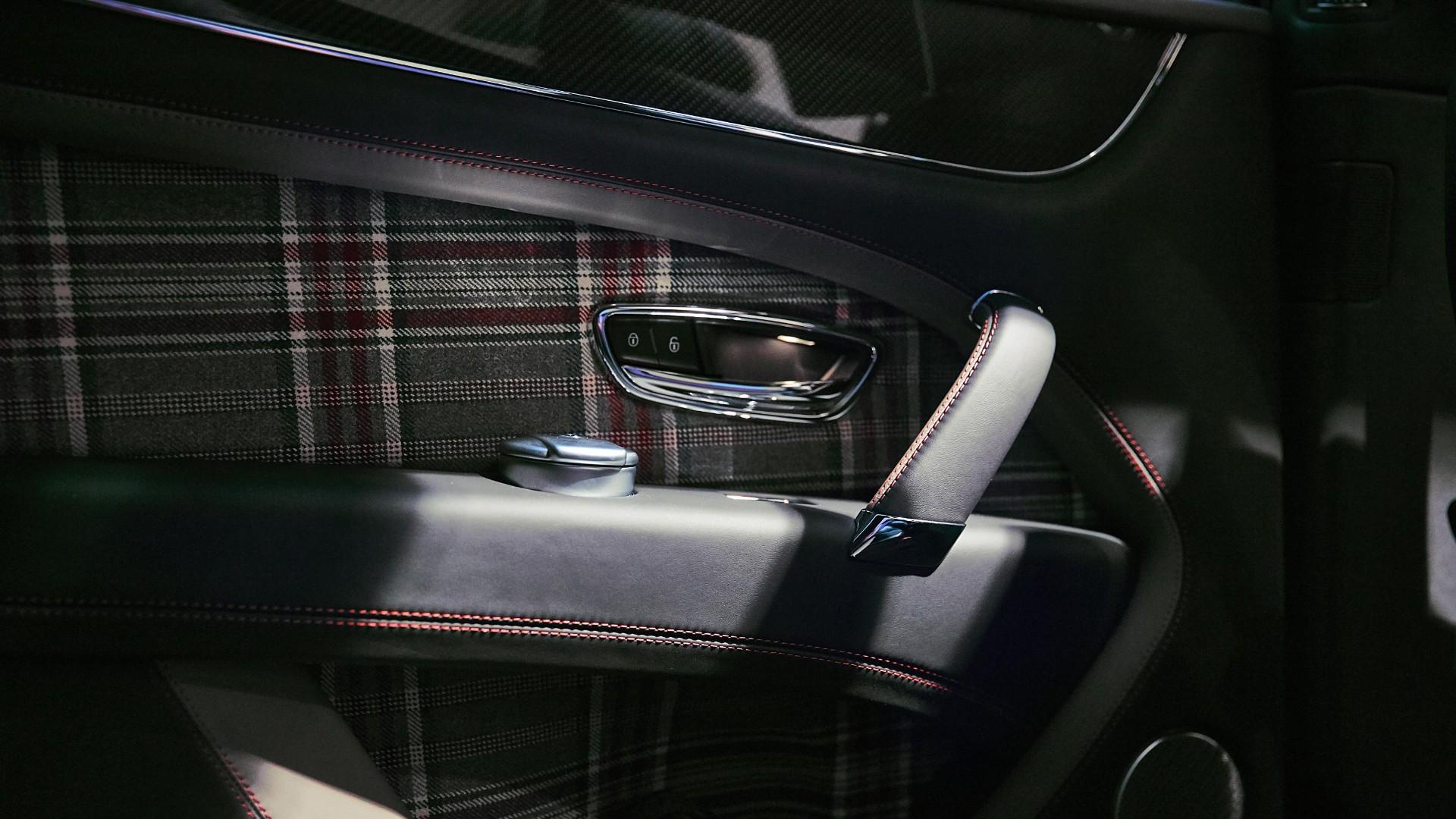 Bentley Bentayga Huntsman tailor