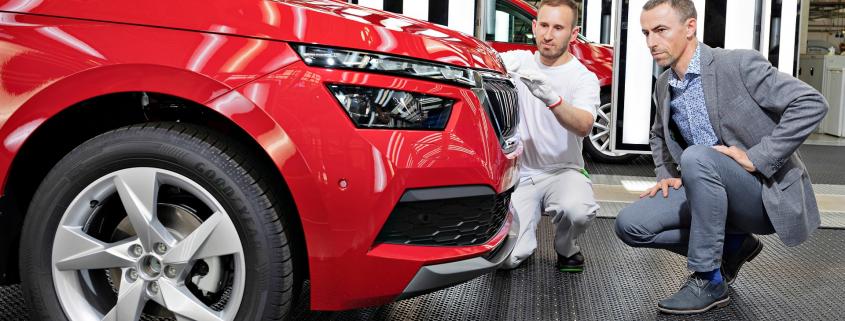 Skoda Kamiq small SUV goes into production