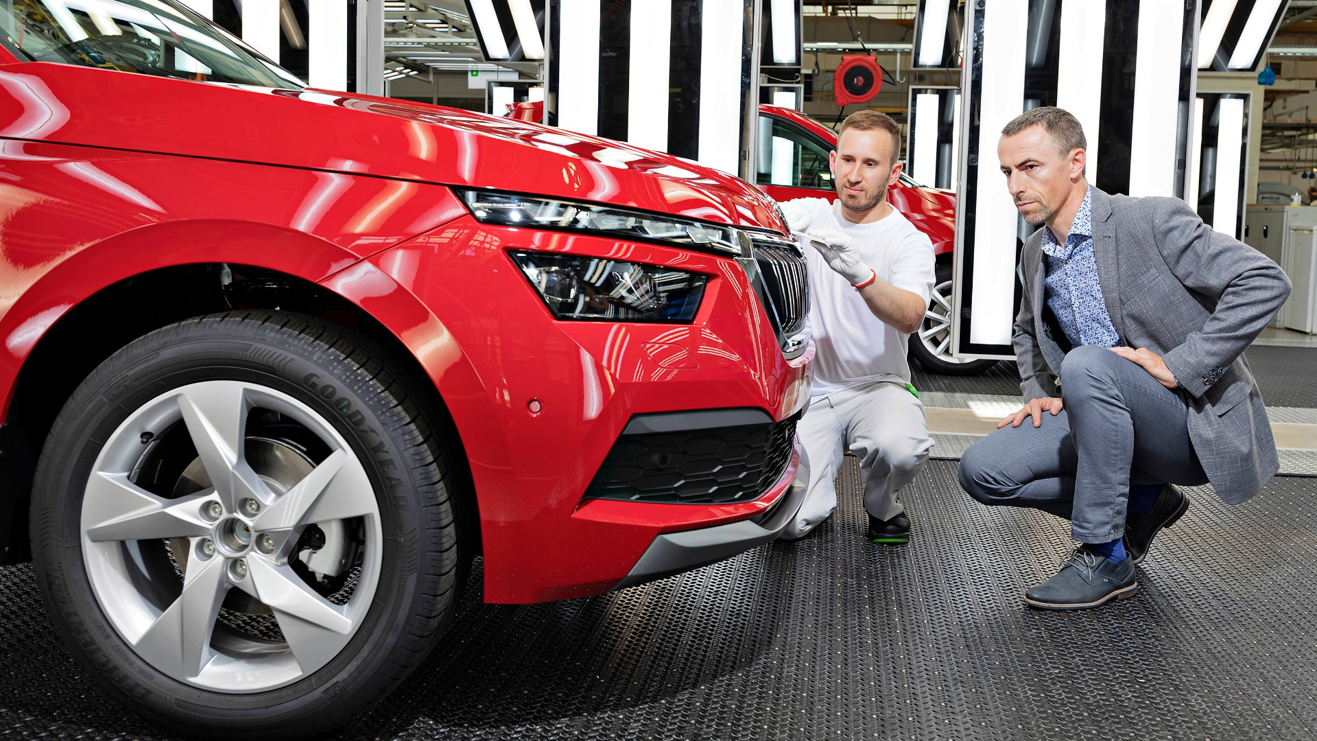Skoda Kamiq small SUV goes into production