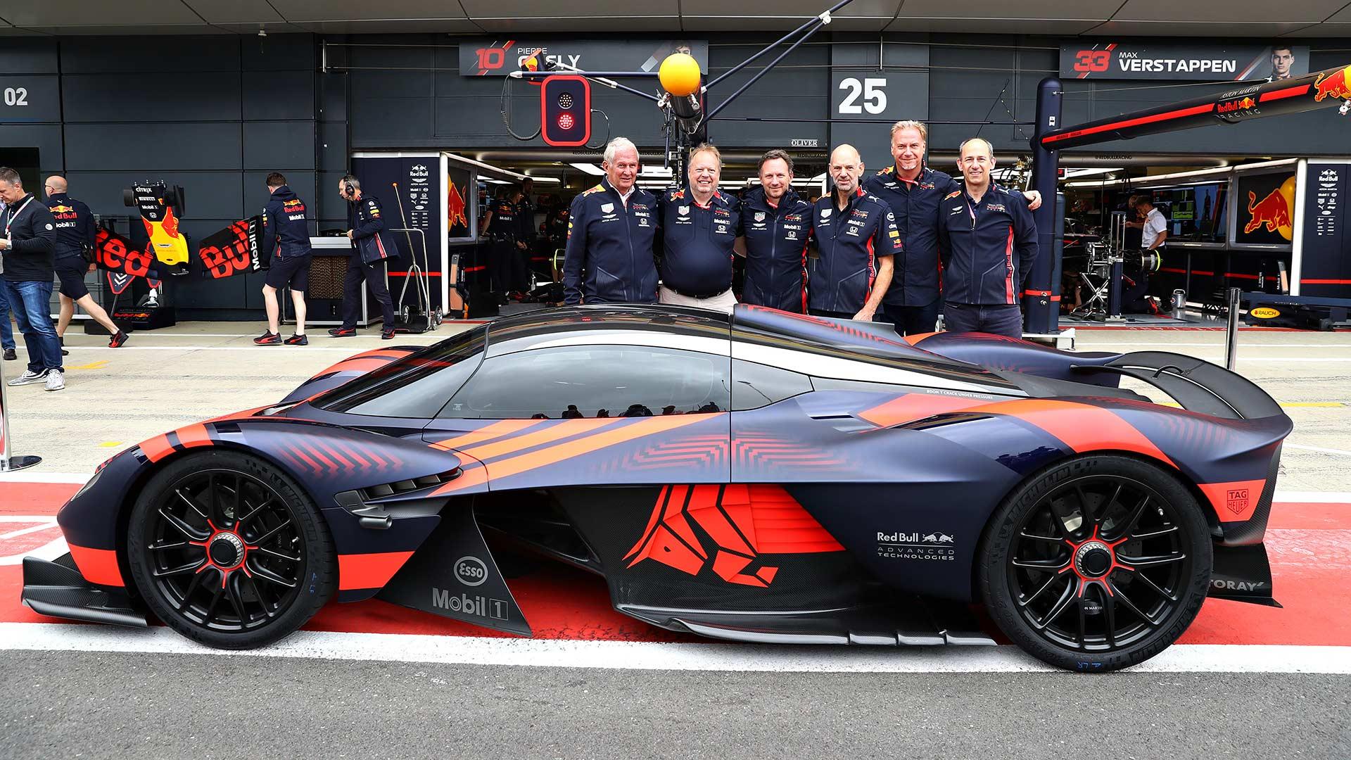 Aston Martin Valkyrie Silverstone public debut