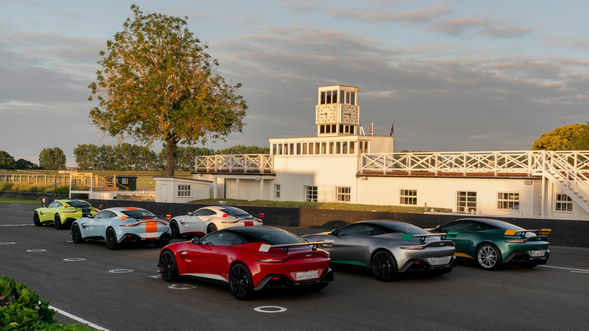 Aston Martin Vantage Heritage Racing Editions