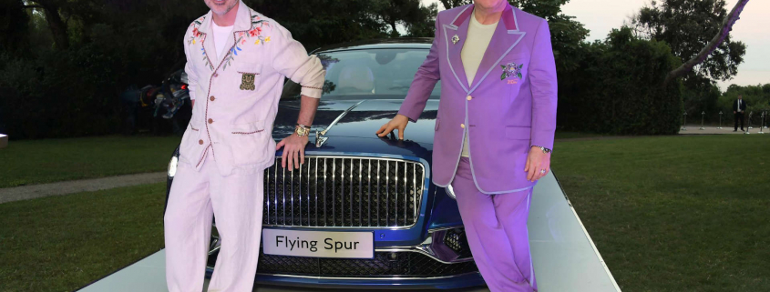 Bentley raises cash for Sir Elton John charity