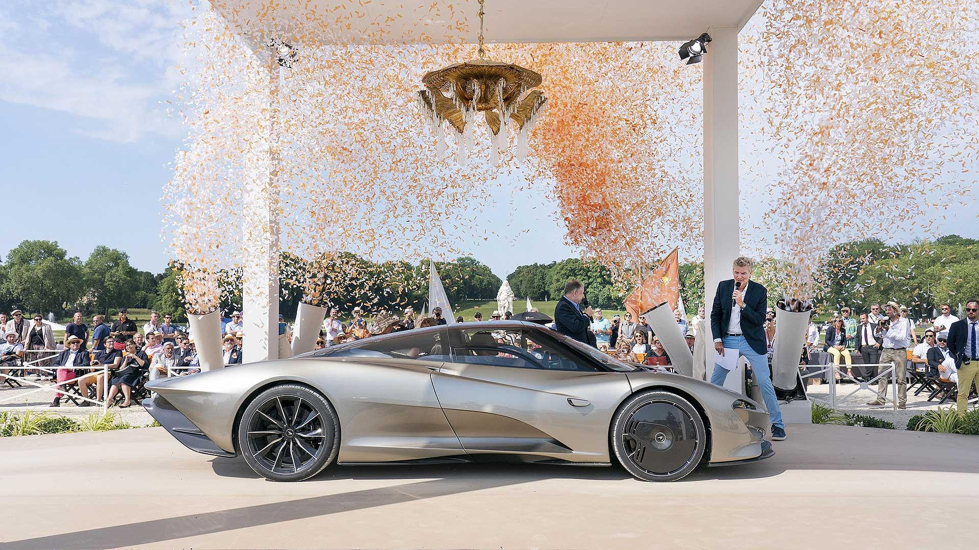 McLaren Speedtail is an award-winner