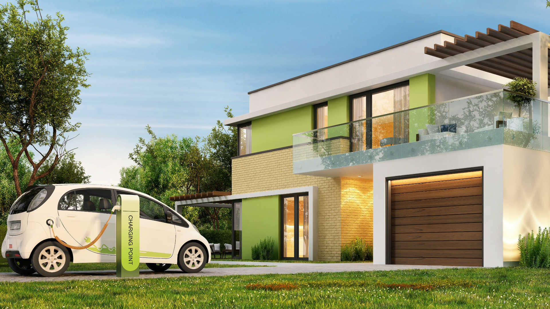 EVERY new home to have an electric car charge point
