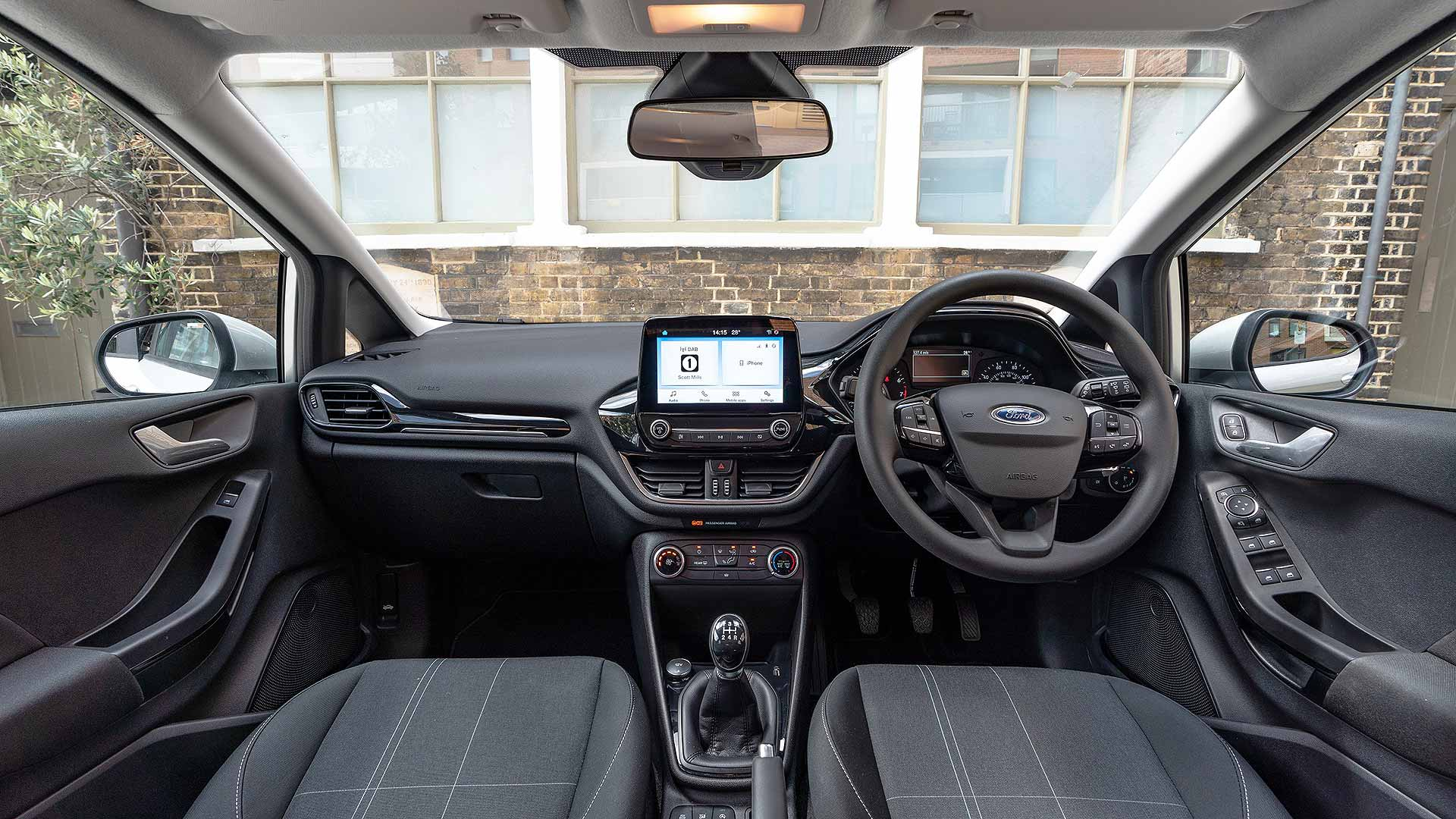 Ford Fiesta Trend interior