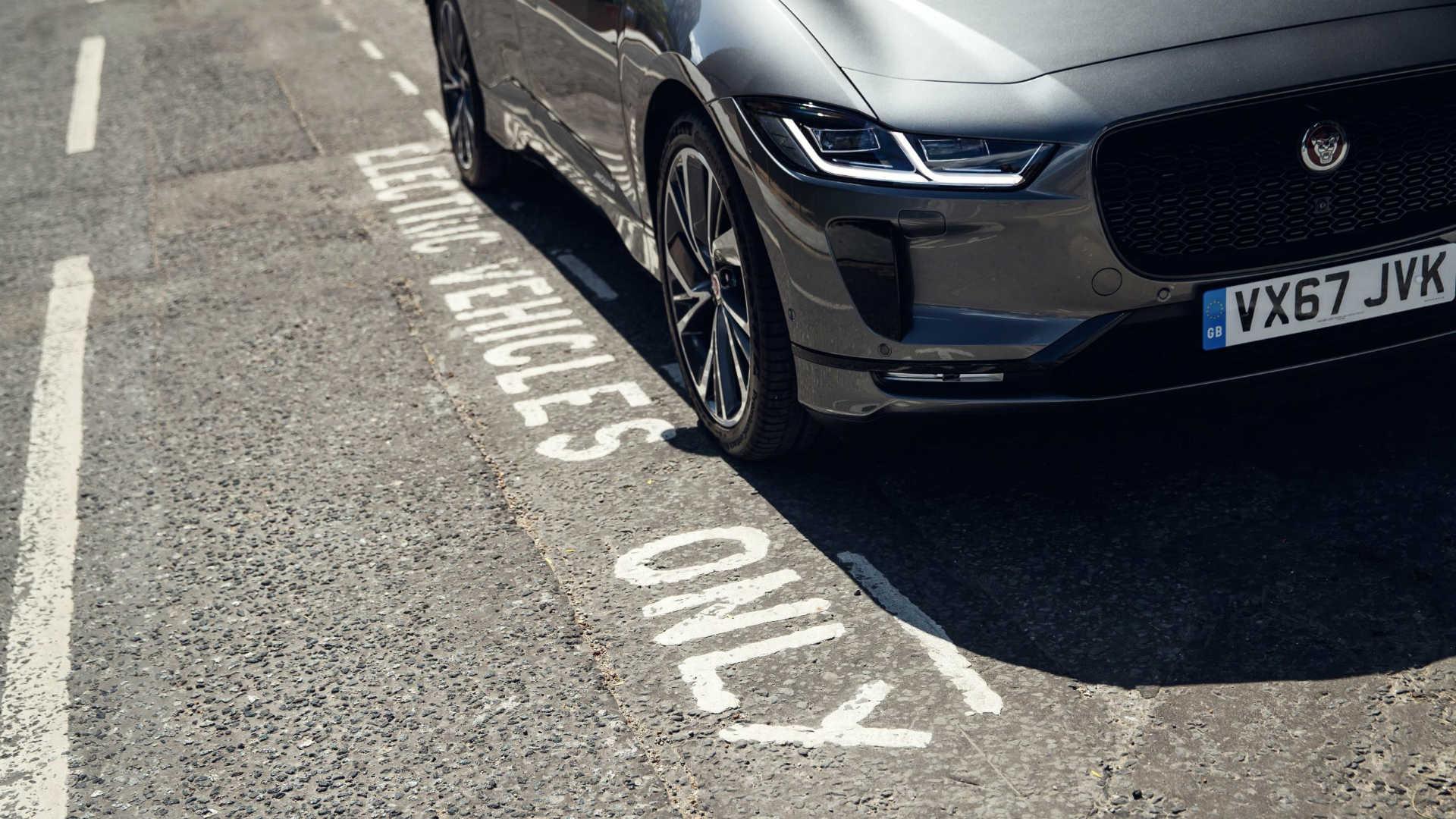 Jaguar electric vehicles only