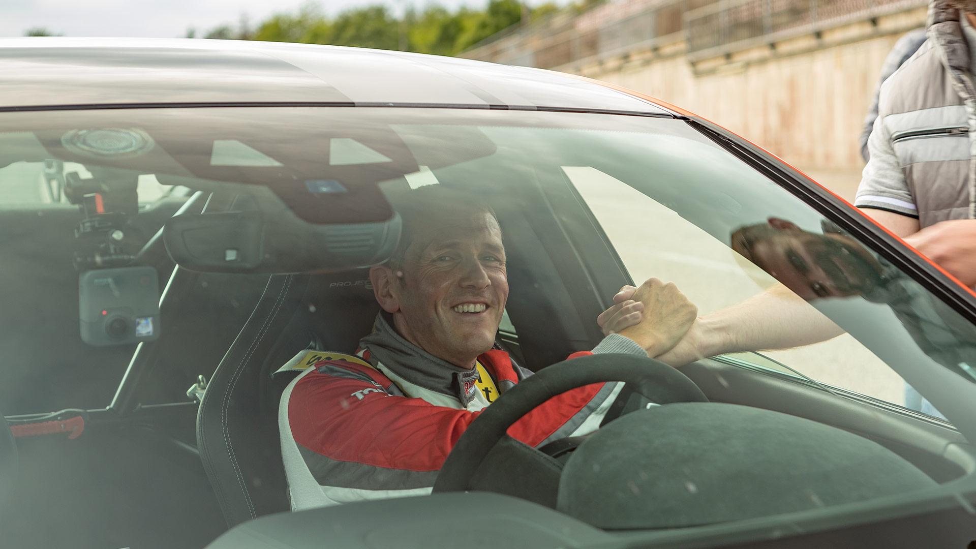 Jaguar sets another new Nurburgring record