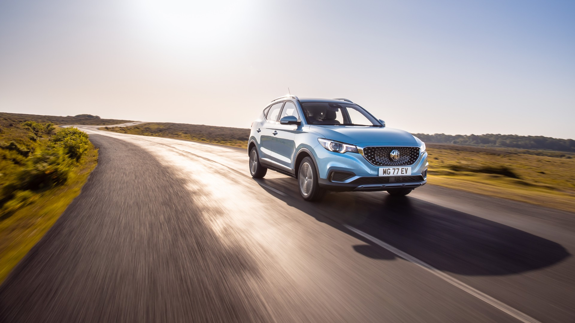 MG ZS EV revealed