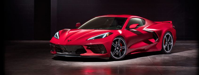 New 2020 C8 Chevrolet Corvette Stingray