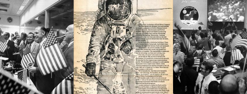 Ford helped the moon landings