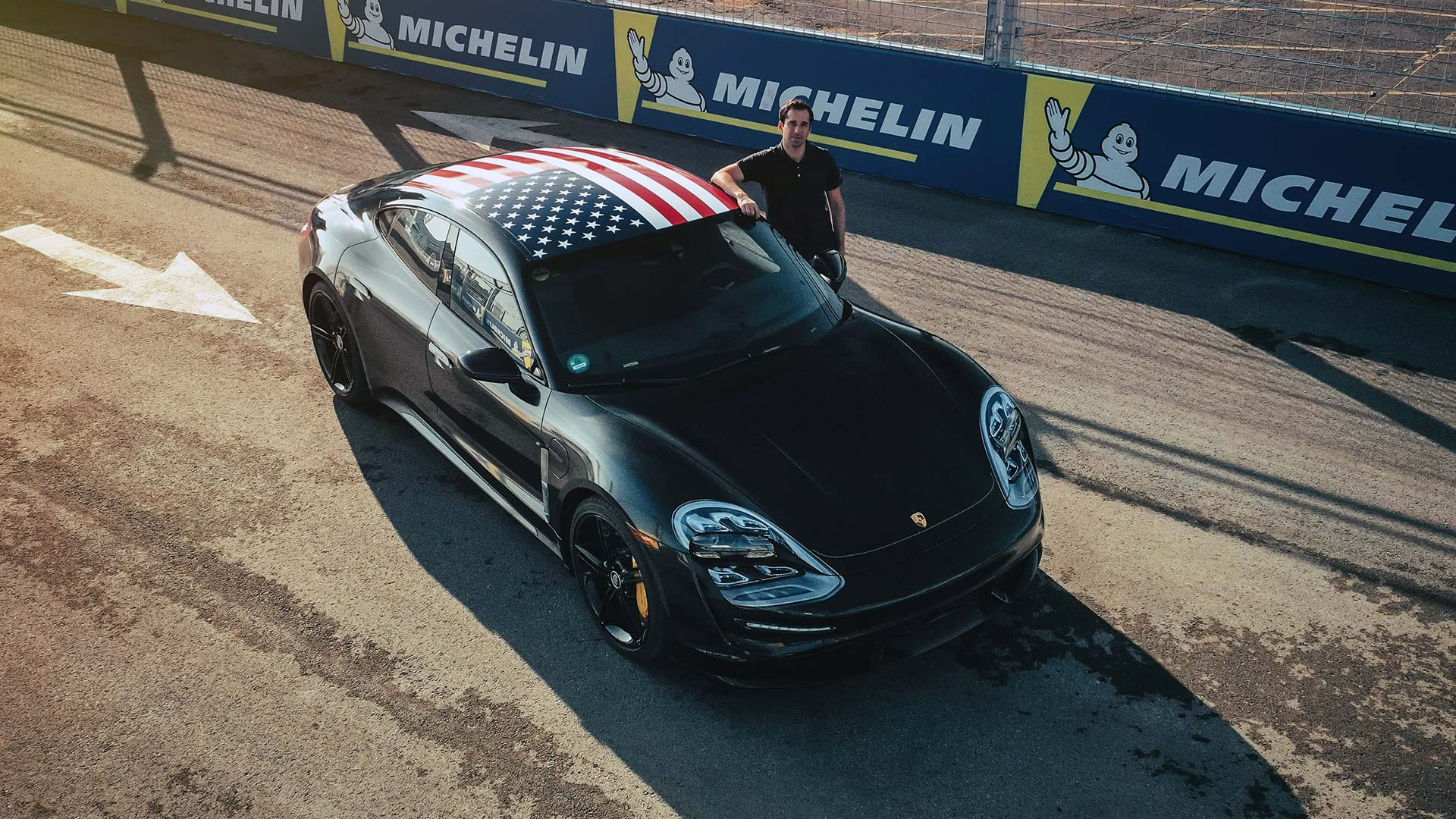 Porsche Taycan debuts in New York