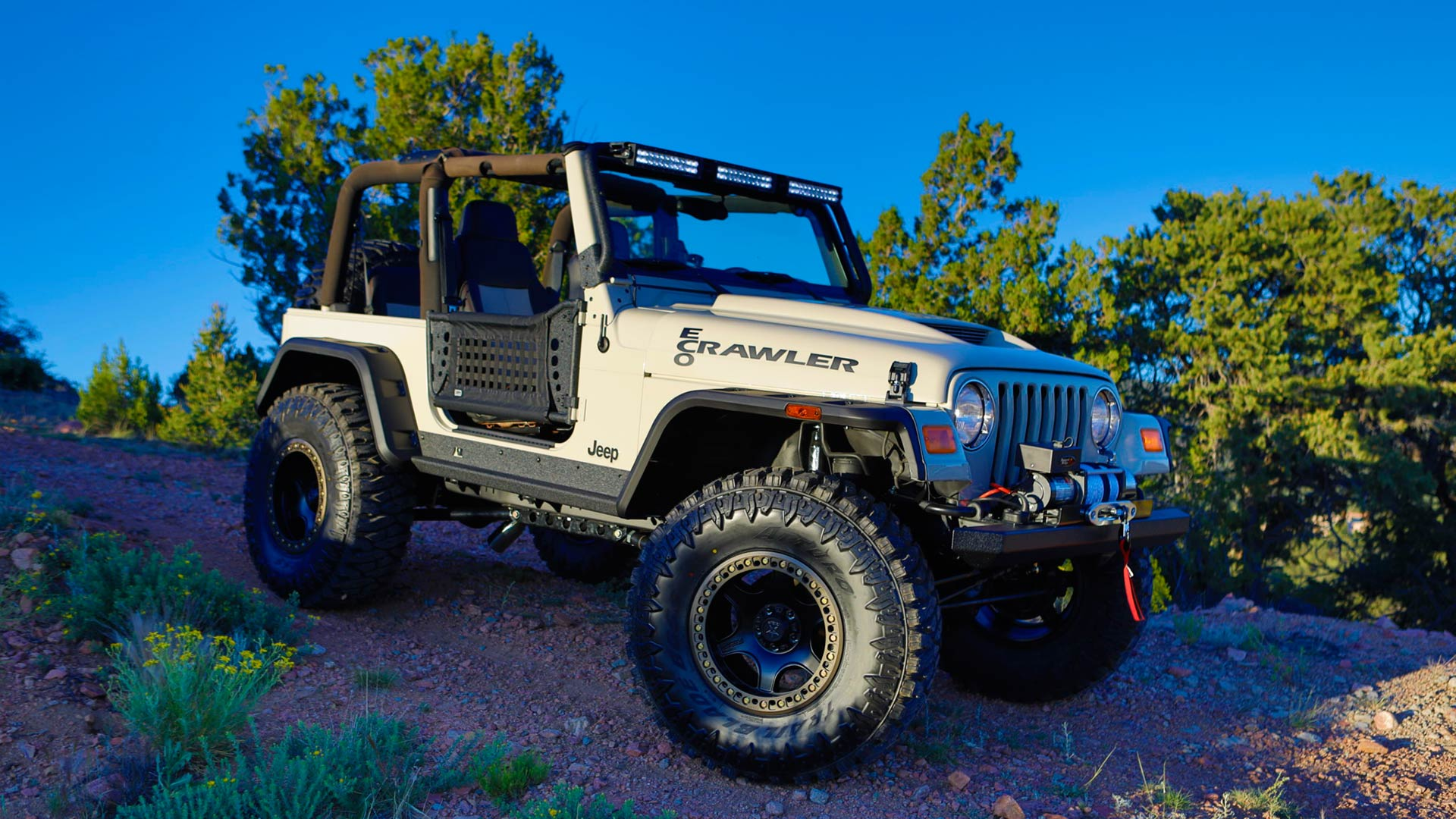 SEMA 2019 High School Build Jeeps
