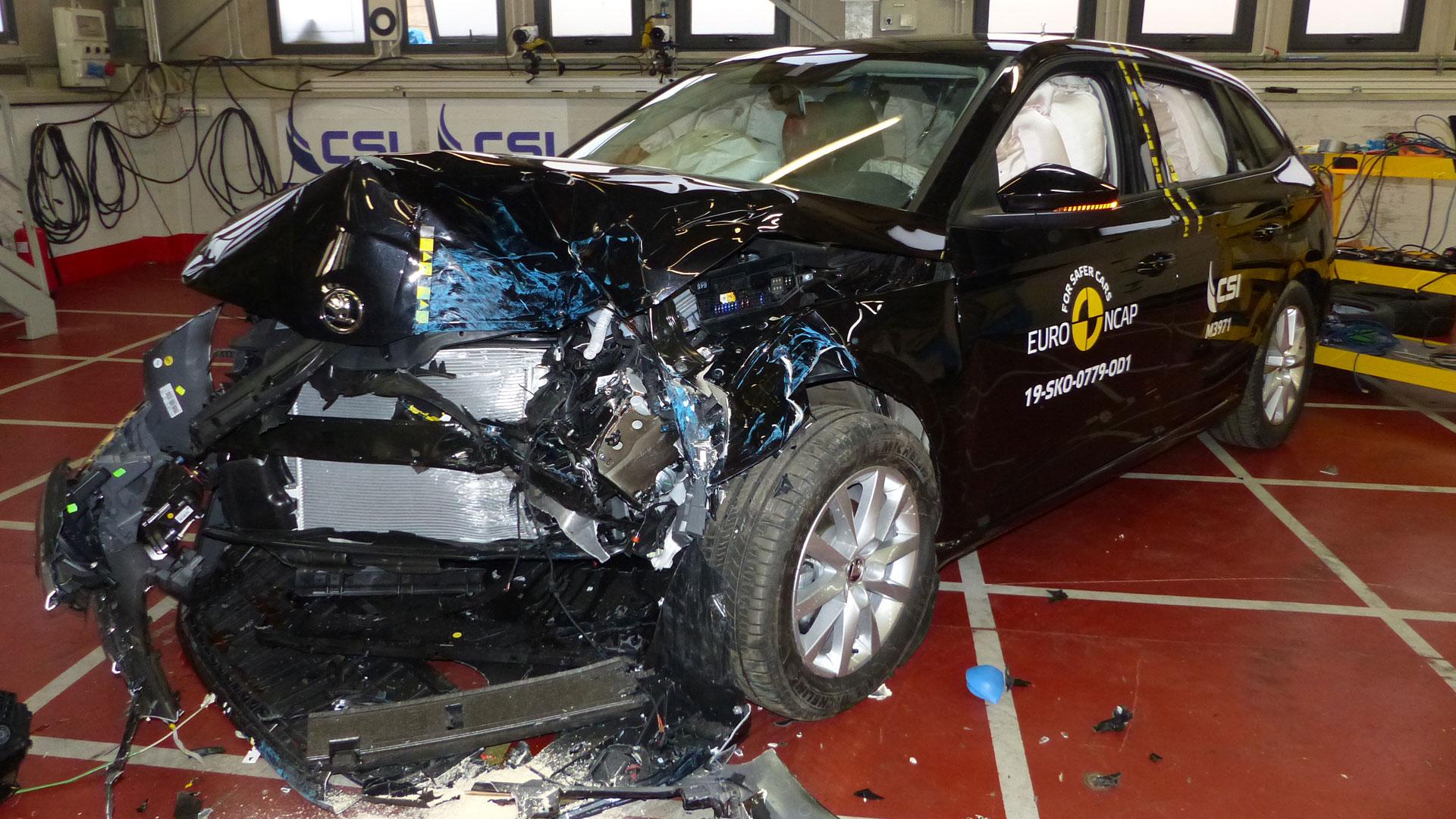 Skoda Scala Euro NCAP test