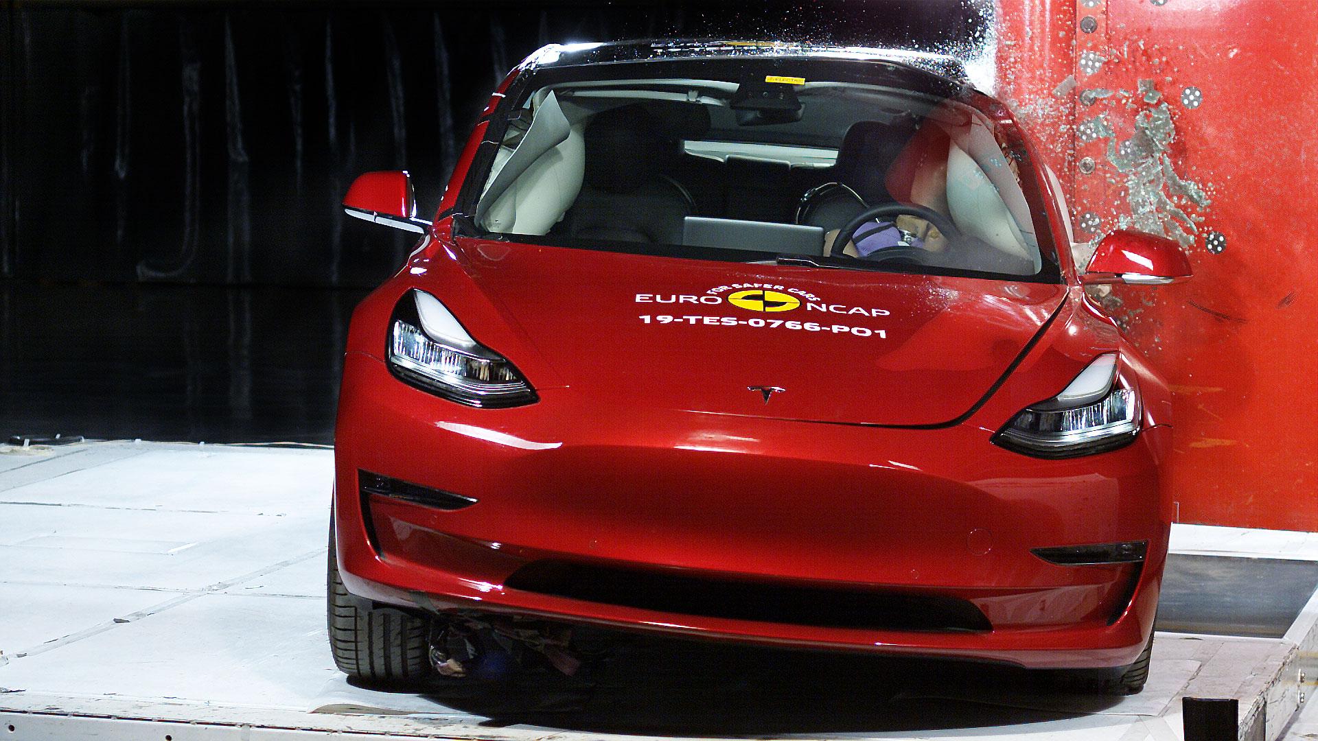 Tesla Model 3 sets new safety tech benchmark