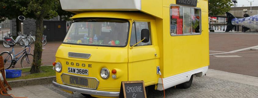 Van drivers in Belfast