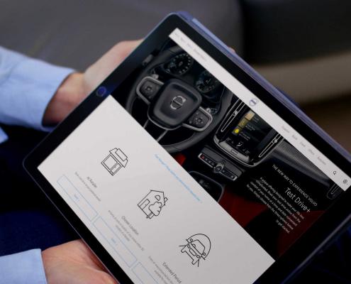 Volvo Test Drive+ service