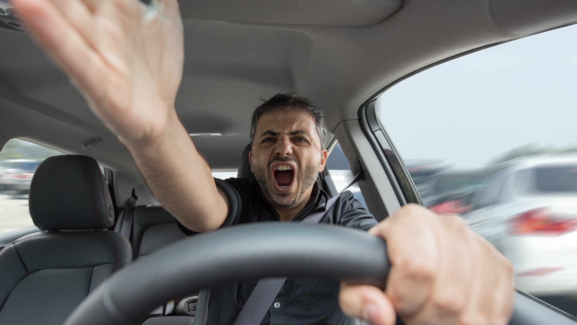 Road rage drivers' pet peeves