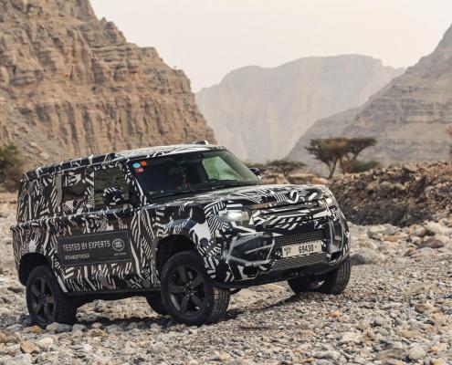 Land Rover Defender expedition to Frankfurt