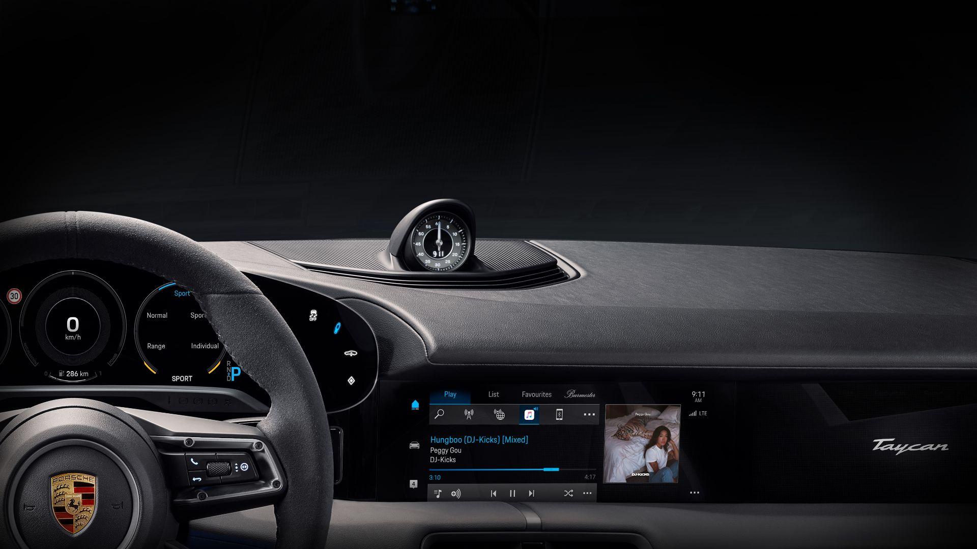 Porsche Taycan gets build-in Apple Music