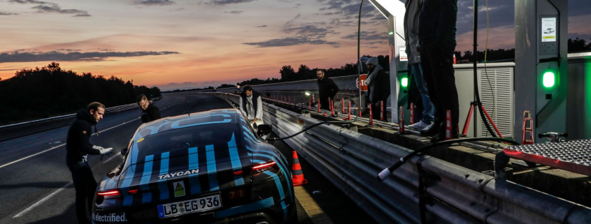 Porsche Taycan covers 2,100 miles in 24 hours