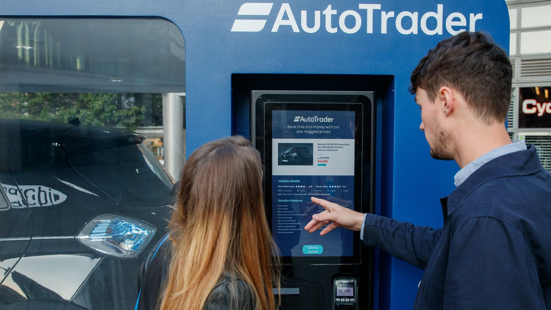 buy a car via contactless payment