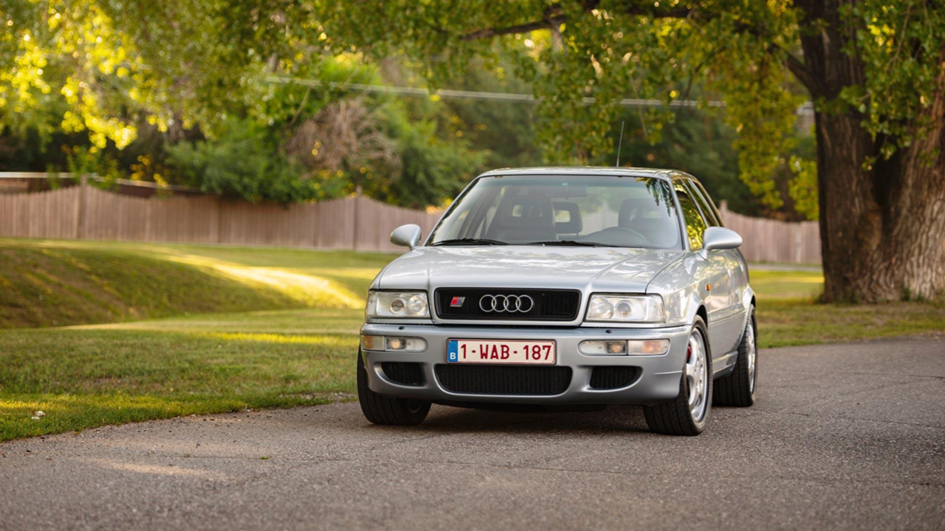 BaT 1994 Audi RS2 Avant in USA
