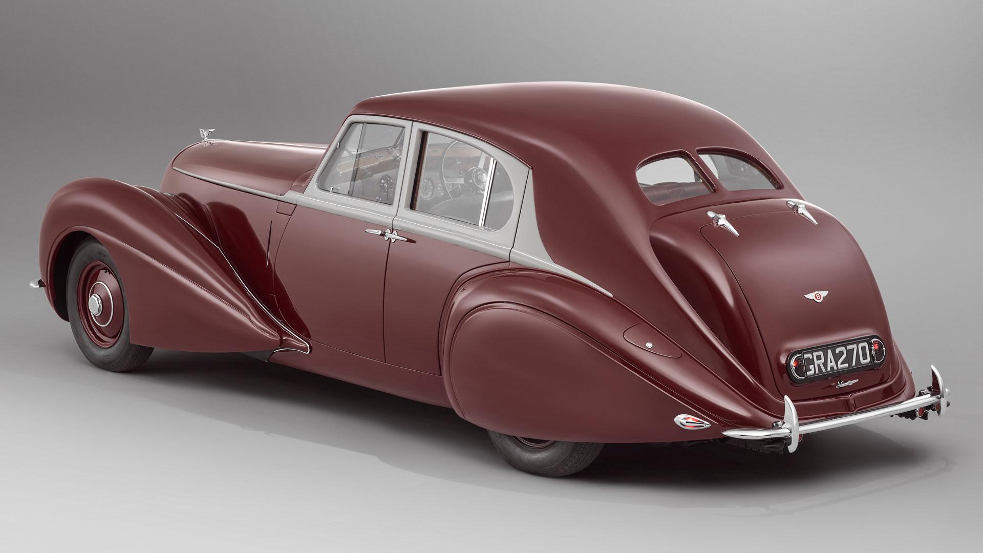 Bentley Corniche rear