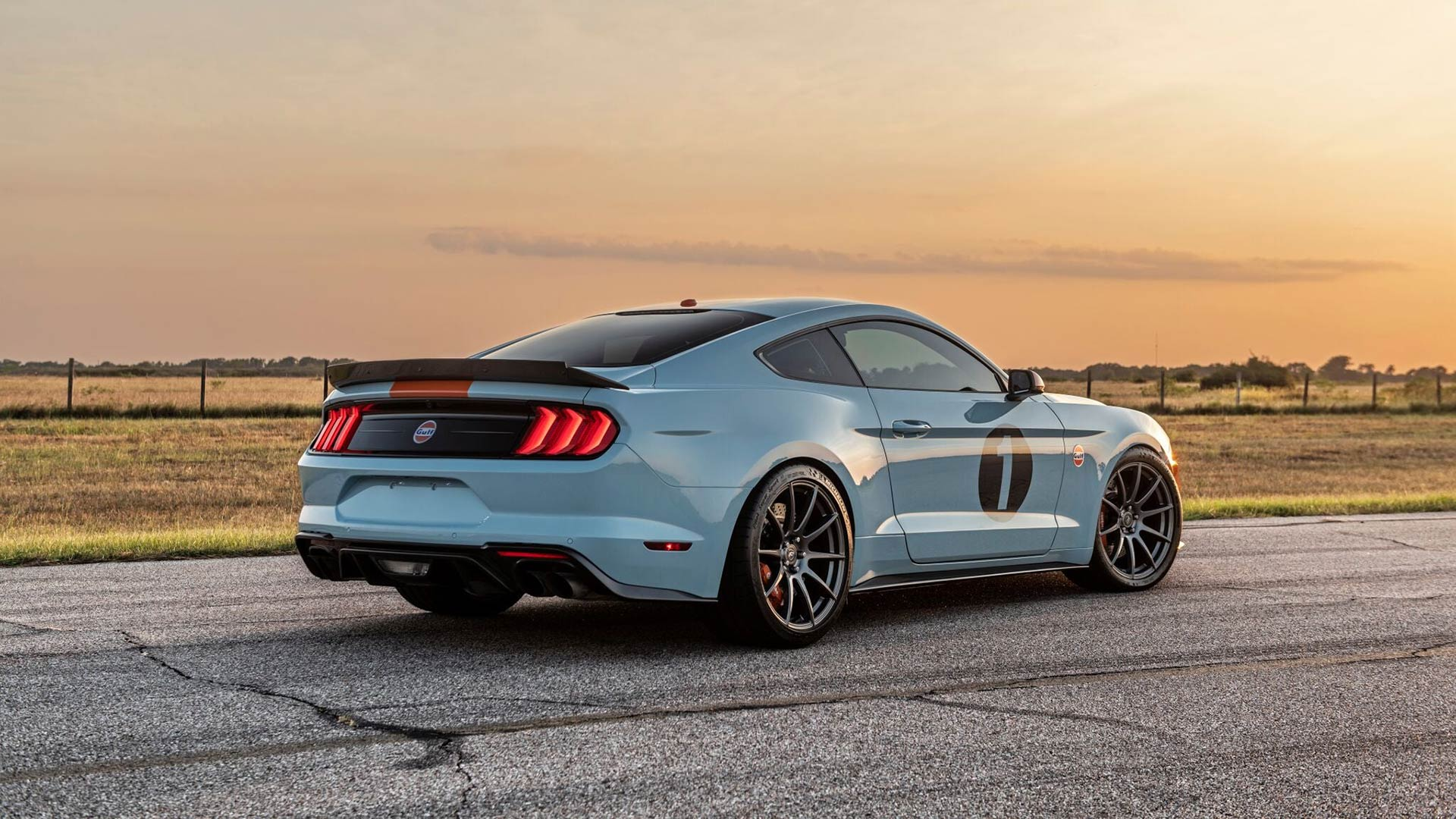 Brown Lee Ford Mustang Gulf Heritage Edition