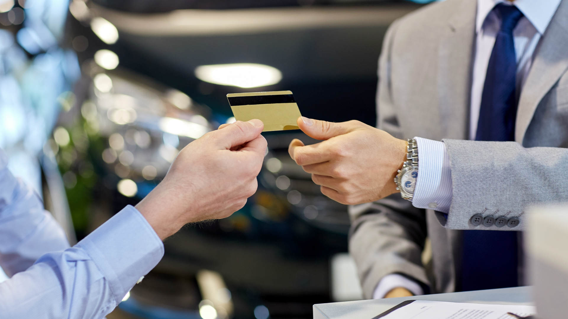 Car finance credit card