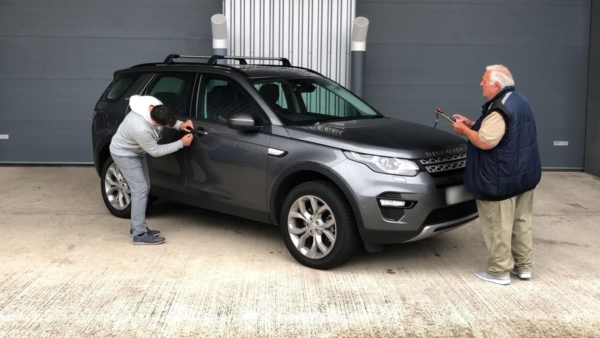 Investigating keyless car theft