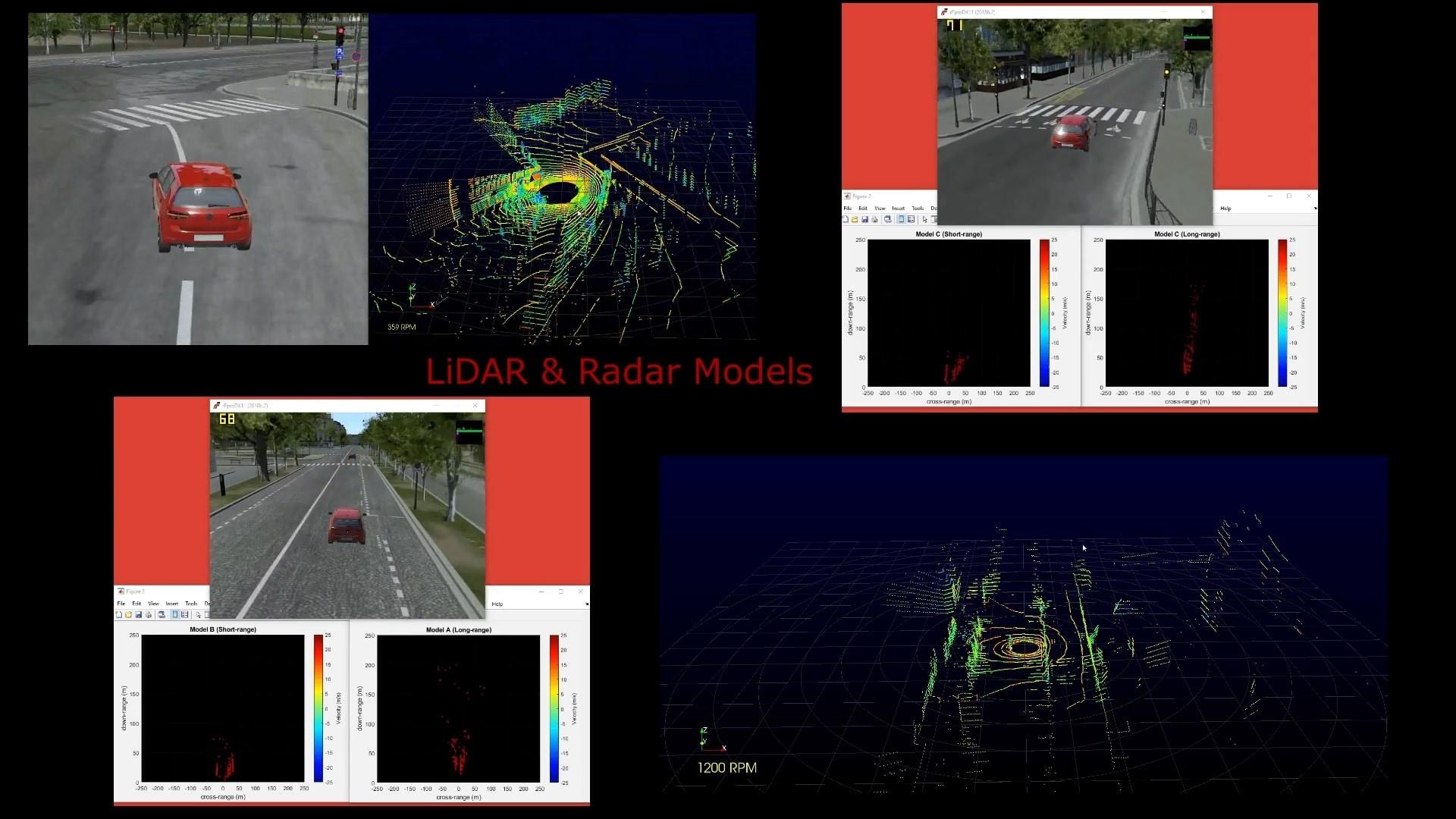 eFpro entirely virtual autonomous testing
