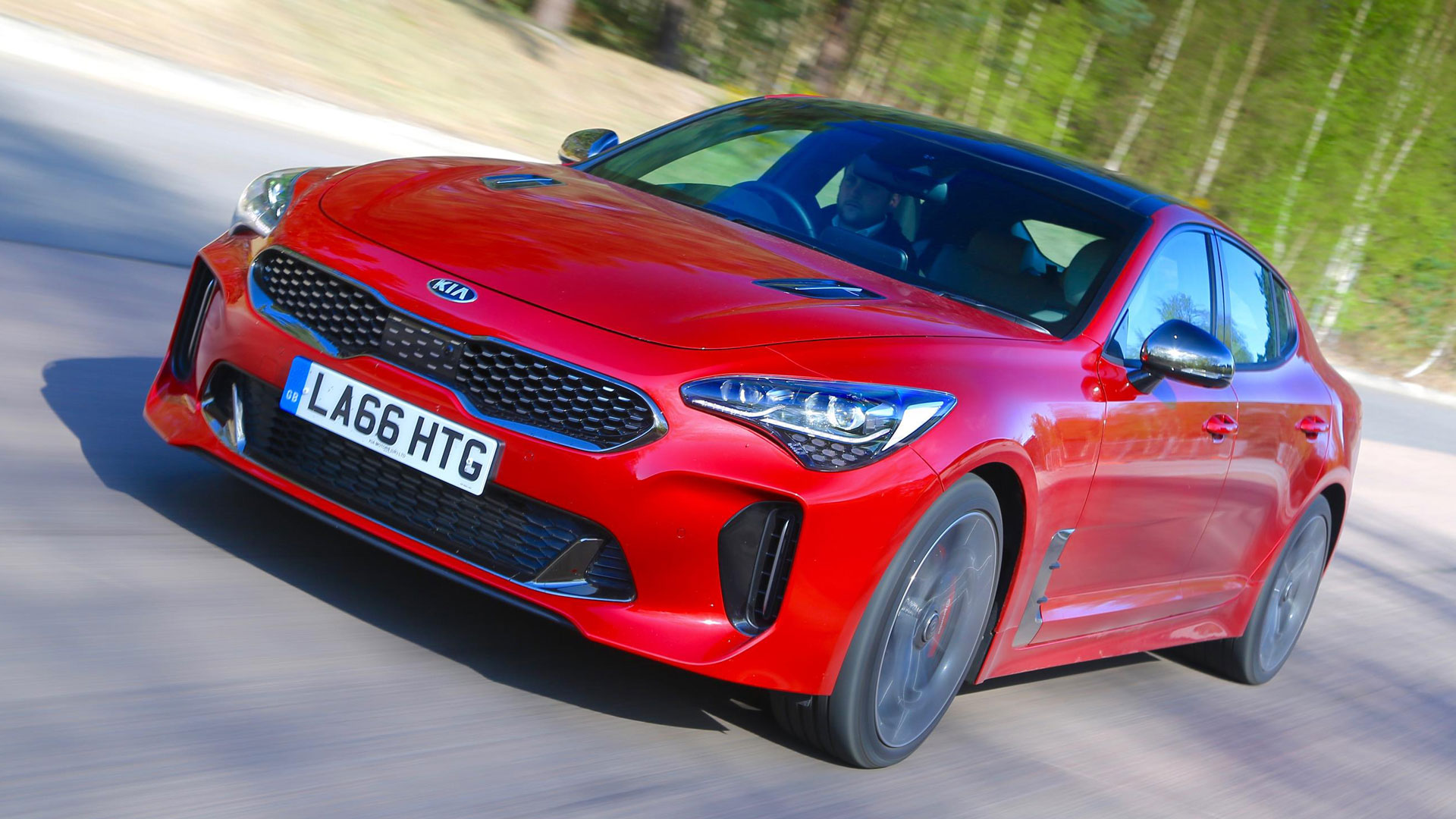 Kia Stinger car rental