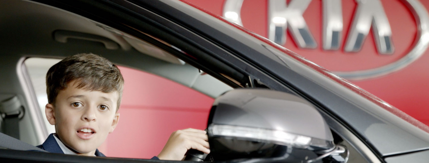 Kia electric car campaign