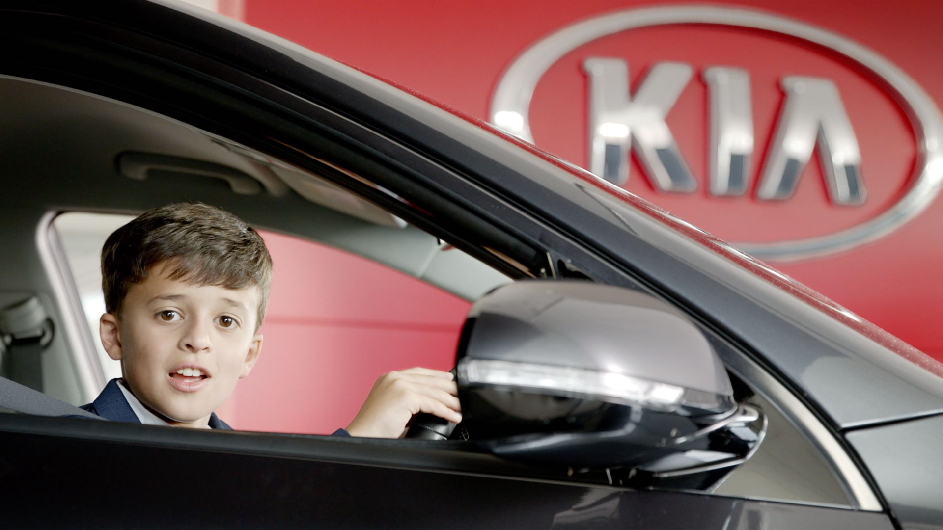 Kia electric car campaign