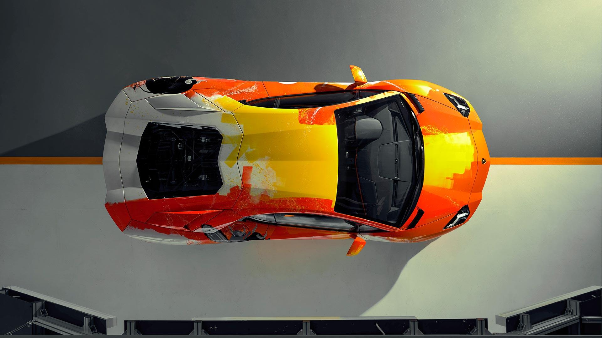 Lamborghini Aventador S 2019 Art Car