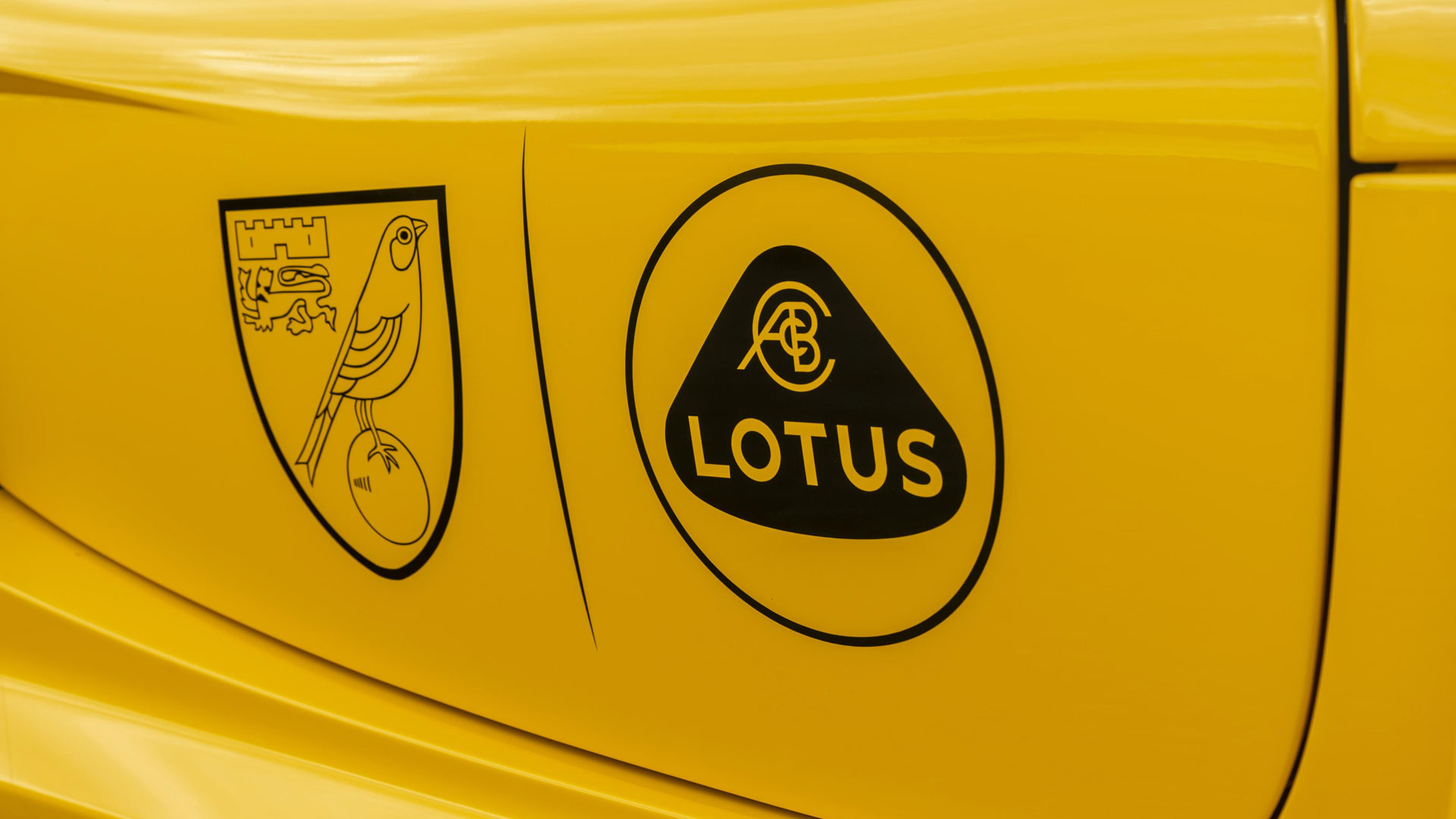 New Lotus branding Norwich City